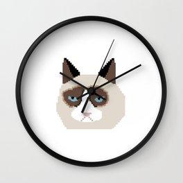 Tar Dar Cat Wall Clock