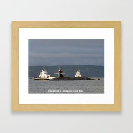 USS HENRY M. JACKSON (SSBN-730) Framed Art Print