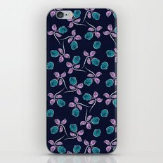 Blue Roses iPhone & iPod Skin