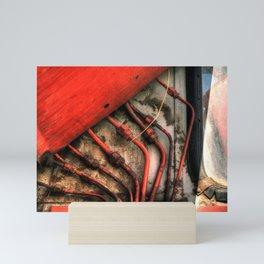 Red Ray of God Mini Art Print