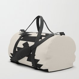 Southwestern Minimalism - Black Duffle Bag