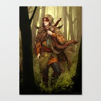 Canvas Prints featuring Kvothe by Sheryn Ng (rynisyou)