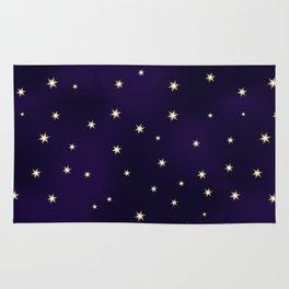 Star pattern Rug