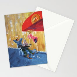 Drink and play Stationery Cards