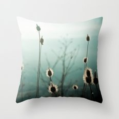 The Story of the Blue Souls Throw Pillow