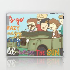 One Direction Live Like We're Young Cartoon Laptop & iPad Skin