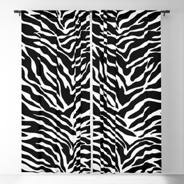 Basic Zebra Pattern Blackout Curtain