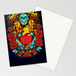 Daggers of love Stationery Cards