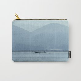 Fisherman on Inle Lake Carry-All Pouch