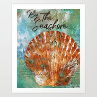 By The Seashore Art Print