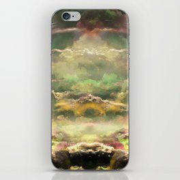 Head in the Clouds by Debbie Porter - Designs of an Eclectique Heart iPhone Skin