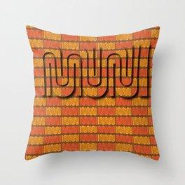 San Francisco Muni Throw Pillow