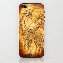 Henna Giraffe iPhone Skin