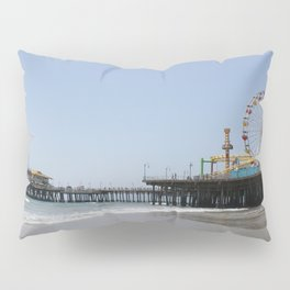 Santa Monica Pier Pillow Sham