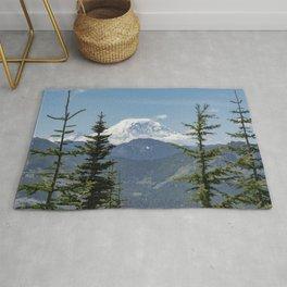 Mount Rainier Framed Rug