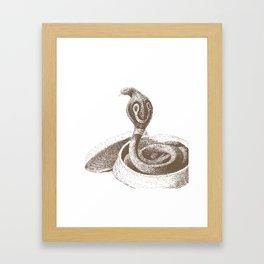 The King Cobra Framed Art Print