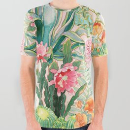 Palm Springs All Over Graphic Tee