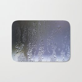 condensed blue Bath Mat
