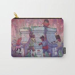 Hardcore Lady-Types: Ode to Lumberjanes Carry-All Pouch