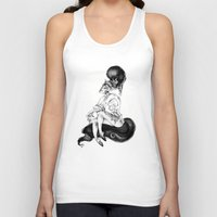 catwoman Tank Tops featuring catwoman by vasodelirium