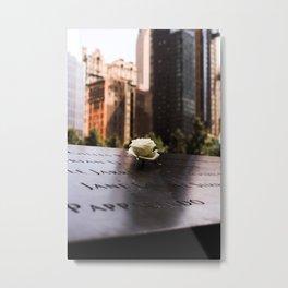 Ground Zero Memorial Metal Print