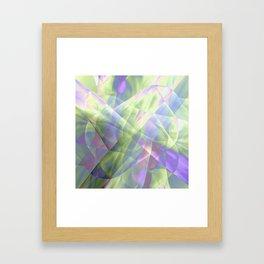 Fabric Overload! Framed Art Print