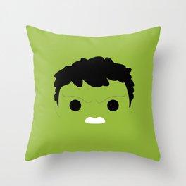 I'm Hulk Throw Pillow