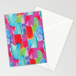 Watercolor stains Stationery Cards