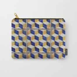 Portuguese tiles pattern Carry-All Pouch