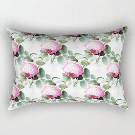Old English Roses Rectangular Pillow