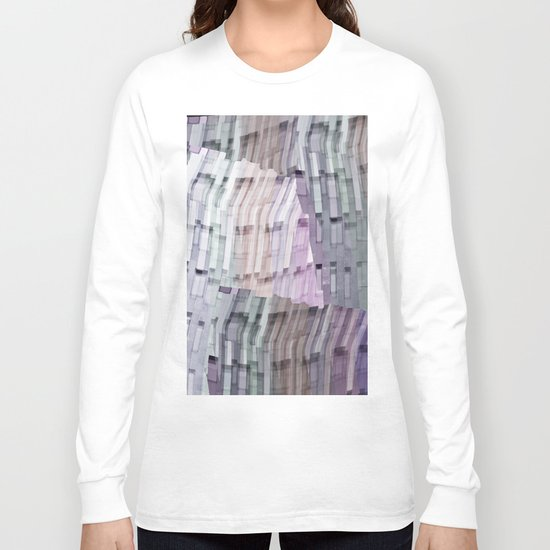 Abstract windows Long Sleeve T-shirt