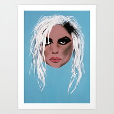 Lady of the eighties - Painting Art Print