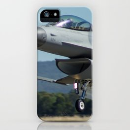 F-16 Fighting Falcon iPhone Case