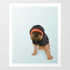 Gangster Digby Art Print
