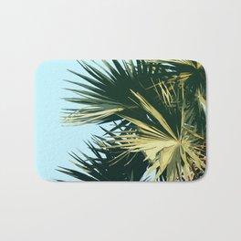 Tropical Trees Sky Exotic Bath Mat