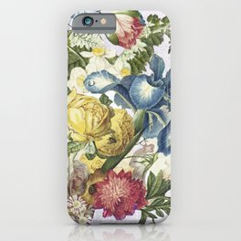 Floral tribute III iPhone Case