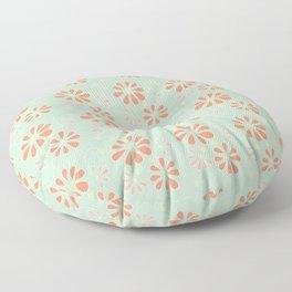 Spring-Summer Blossoms Floor Pillow