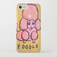 poodle iPhone & iPod Cases featuring poodle by helendeer