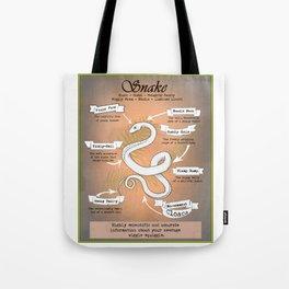 Snake Science Tote Bag