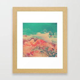 PALMMN Framed Art Print