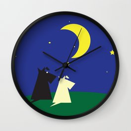 Scottie's Night Wall Clock
