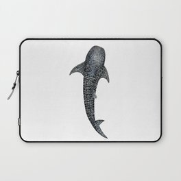 Whale shark for divers, shark lovers and fishermen Laptop Sleeve