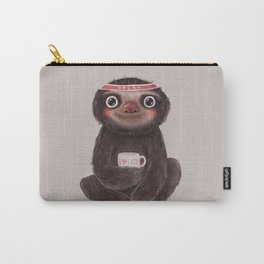 Sloth I♥lazy Carry-All Pouch
