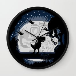 Alone? Wall Clock
