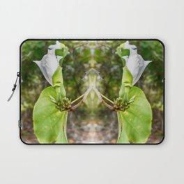 Delicate butterfly tree flower Laptop Sleeve