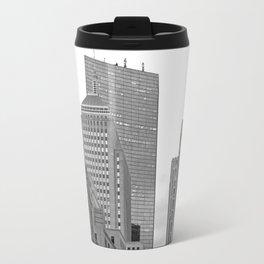 Boston streets Travel Mug