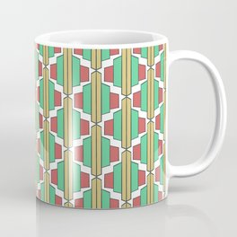 Art Deco Broach Pattern Coffee Mug