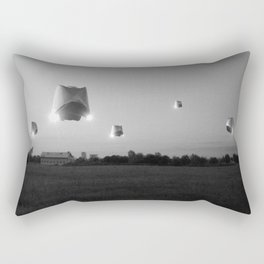 Run n Hide_BW Rectangular Pillow