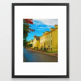 A Quaint Place Framed Art Print