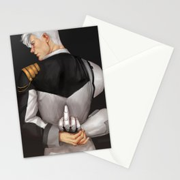 Admiral Shirogane (dark background) Stationery Cards